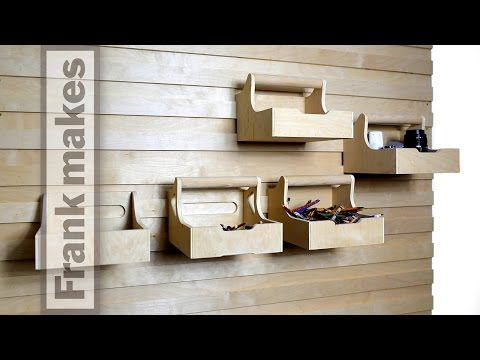Frank Howarth French Cleat Storage Wall 12 10