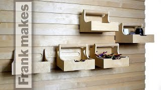 Office 3: French Cleat Storage Wall