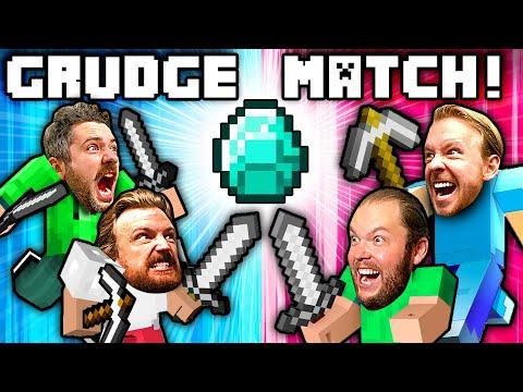 Minecraft Diamond Race GRUDGE MATCH With TEAMS!