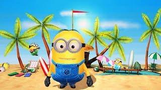 Despicable Me 2: Minion Rush Beach Run Part 4