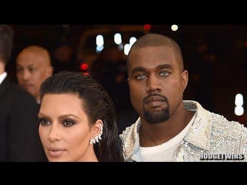 Kanye West Has Blue Eyes @Hodgetwins
