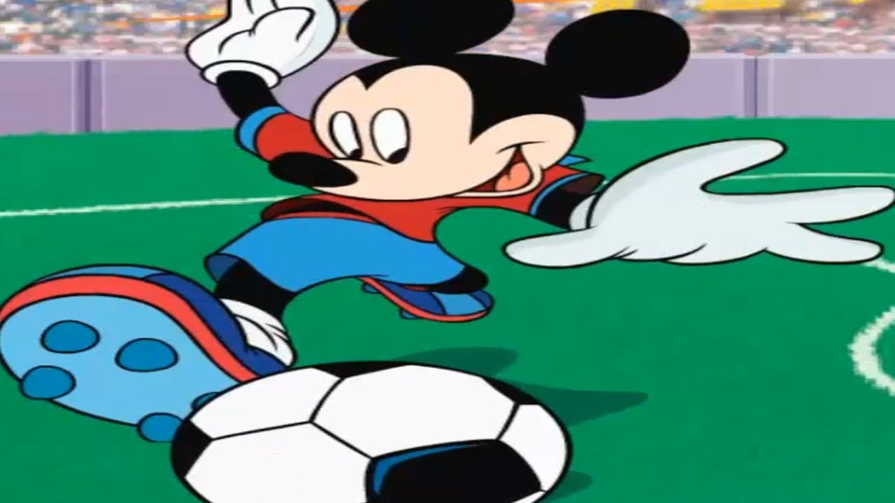 mickey mouse friends mickeys football fever clubhouse new episode game youtube