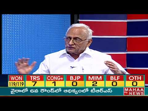 IVR Analysis Special Discussion | #TelanganaElectionResults | Mahaa News