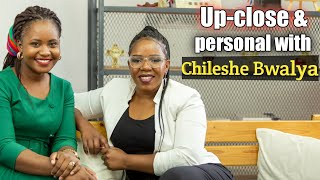 Up close and personal with Chileshe Bwalya| She prayed for her hubby and his ex to work things out!!