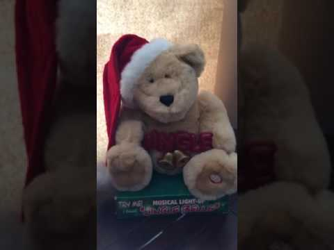 DanDee musical light up Jingle Bells Bear