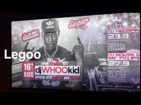 DJ WHOO KID in BANGKOK @ Sugar Hip Hop Club | Thailand nightlife
