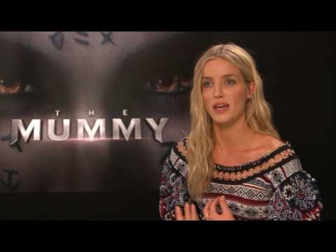 The Mummy   Annabelle Wallis  hub