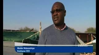 Eenhana Town Council demolishes illegal structures set up alongside open market-NBC
