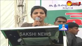 Warangal Collector Amrapali controversial comments; Job Mela Speech