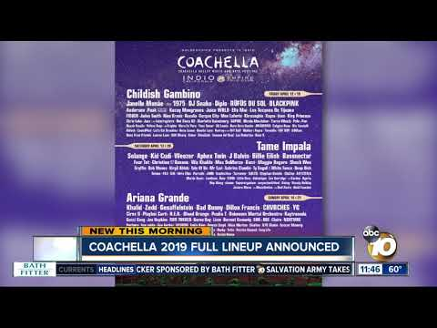 Coachella 2019 lineup released Mp3
