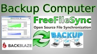 How to Backup your Computer & Synchronize Files with Free File Sync