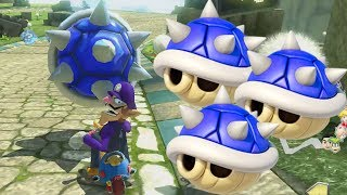 Mario Kart 8 Deluxe Blue Shell Montage 9