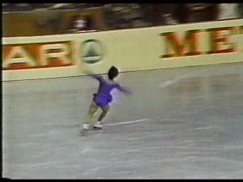 Emi Watanabe 渡部 絵美 (JPN) -1980 Worlds, Ladies' Long Program