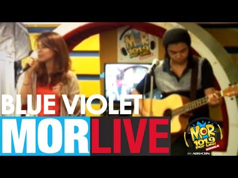 "MOR Live: Blue Violet covers ""Roses"" (Chainsmokers)"