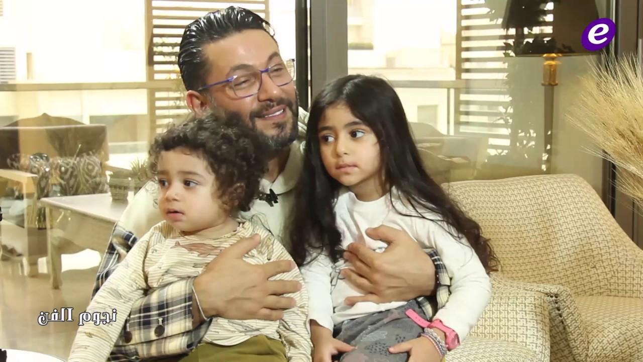 زياد برجي في أول ظهور مع ولديه: سأجمع إليسا بأحمد ماضي وقصّرت بحق راغب علامة