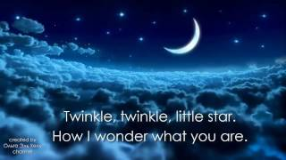 Twinkle Twinkle Little Star with Lyrics. Covered by Olga El Helou