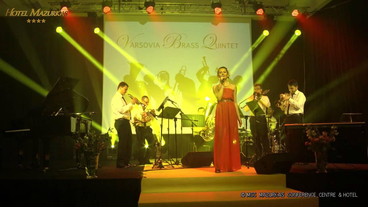 Andrzej Hulewicz  60 lecie -  MCC koncert- Katarzyna  Goszcz i Varsovia Brass Quintet