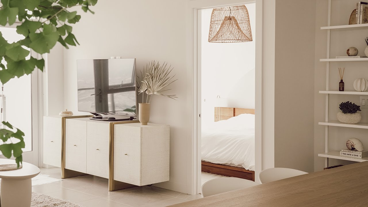 My NEW Cozy Minimalist Bedroom & Bathroom Makeover | Designing My Hooga Home - Part 4