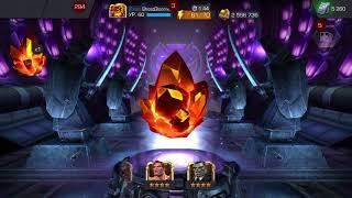 Marvel битва чемпионов/открытие кристаллов/ ох уж этот вкр