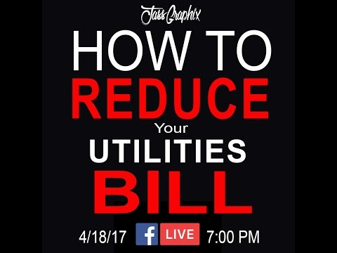 How to Save Money on your Power and Utilities Bill