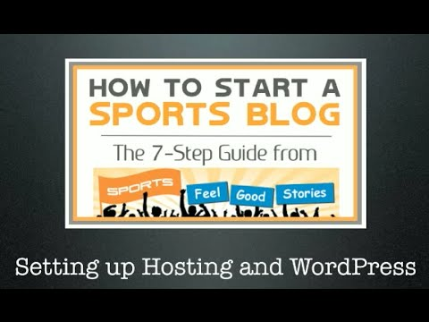 how to start writing a sports blog sites