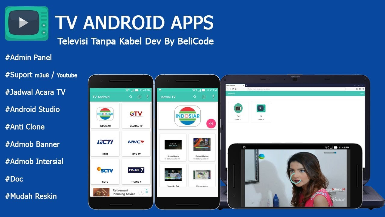 Source Code Aplikasi Tv Android Studio Free Iptv M3u8 Source Code Tv Android Indonesia Youtube