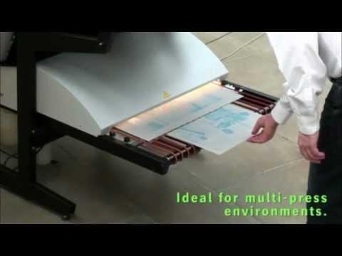 Platewriter 3000 Ctp Platemaker Youtube