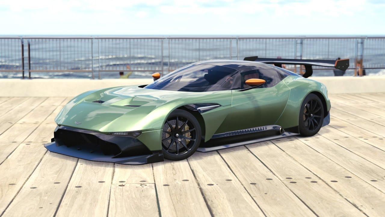 Forza Horizon 3 2016 Aston Martin Vulcan Youtube