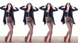 Girls In Shorts! How to Wear High Waisted Shorts Fashion Music Video thumbnail