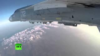 ВКС РФ уничтожили в Алеппо и Хаме склад оружия и колонны внедорожников террористов