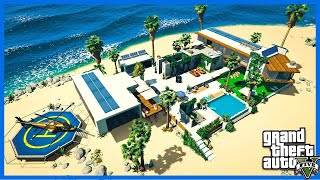 I BOUGHT A NEW PRIVATE ISLAND IN GTA 5!
