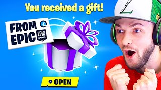 EPIC Sent Me a *SECRET* GIFT! (FIRST LOOK)