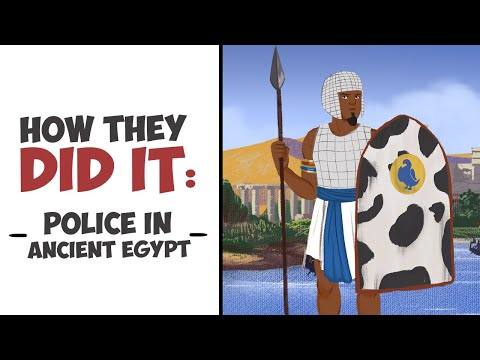 Police in Ancient Egypt - From Medjay to Centurion DOCUMENTARY