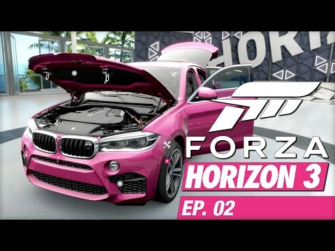 Forza Horizon 3 (Xbox One) - EP02 - Press 'X' to Explode