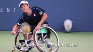 Shingo Kunieda Wheelchair Tennis Champion US Open 2010
