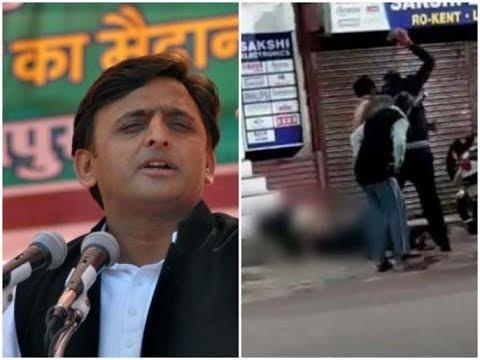 इलाहाबाद दलित छात्र की हत्या पर विधानसभा में Akhilesh Yadav और विपक्ष ने योगी सरकार को घेरा
