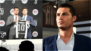 What Happens if RONALDO goes to JUVENTUS? (FIFA 18 Career Mode)