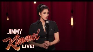 Sarah Silverman Got the Greatest Gift from Michael Sheen