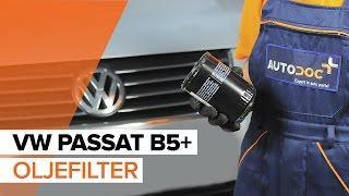 Montering Oljefilter VW PASSAT Variant (3B5): gratis video