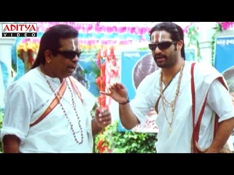 Judwa No1 Hindi Movie Brahmanandam & Ntr Best Comedy Scenes