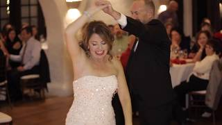 Isabella & David's Christmas Wedding at Villa Parker