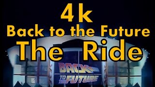 4k Remaster : Back to the Future The Ride (raw film reel)