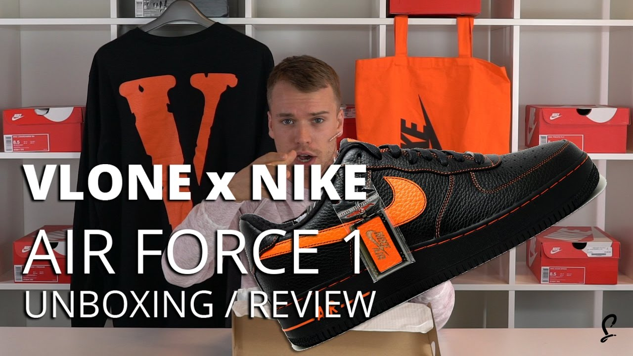 VLONE x Nike Air Force 1 Review   Unboxing - YouTube 0dd870343