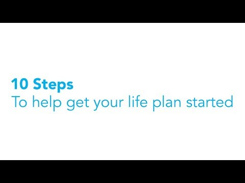10 steps to help get your life plan started:  Step 1 - Understanding what you love