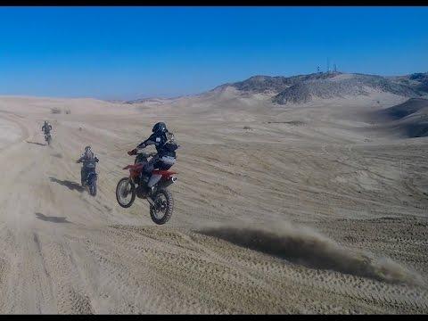 Dirt Bike Desert Ride With Veteran Racers Youtube