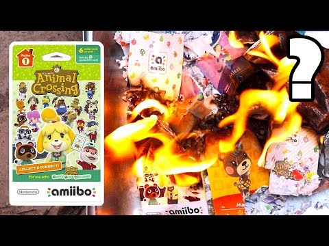 KEEP IT OR SHRED IT? - Animal Crossing Amiibo Cards!