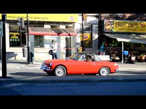 OLD FOREIGN CAR SIGHTINGS - DRIVING