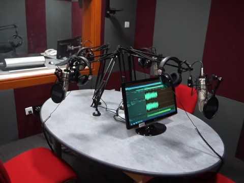 RadioActive Radio Talk Studios at BBC Media Action Office in Abuja, Nigeria