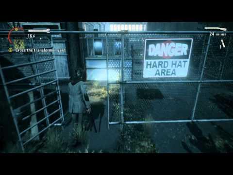 14. Alan Wake Walkthrough - Episode 5 The Clicker - Transformer Yard