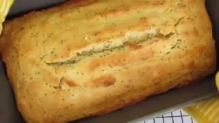 LEMON POPPY SEED BREAD - How to make Basic Quick Bread demonstration